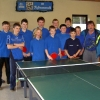 Tischtennisjugend im März 2005