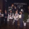 Ehrung der SVF-Tischtennis-Damenmannschaft beim Sportlerball der Stadt Rehau 2007